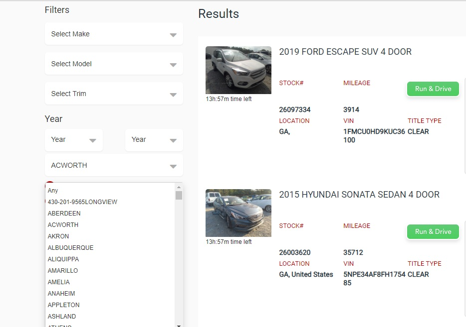 Find The Best Car Auctions Near Me